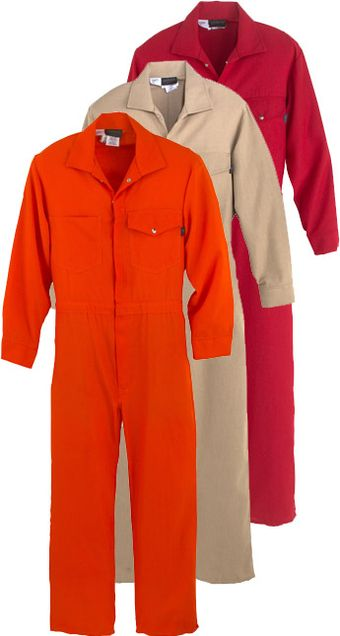 Workrite Fire Resistant Industrial Coverall 112NX45/1124 - 4.5 oz Nomex® IIIA