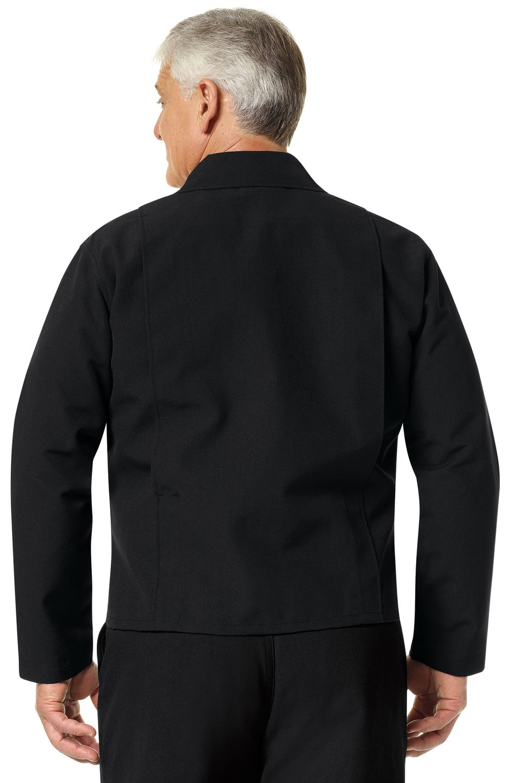 Workrite FR Firefighter Jacket FW20 Black Example Back