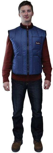 RefrigiWear 0599 Cooler Wear Insulated Work Vest - Front View