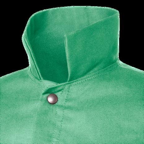 """Steiner Weldlite Flame Retardant Jacket Cotton 30"""" 1030 Collar"""
