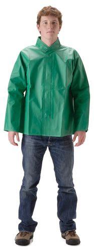 nasco acidbasic chemical splash acid resistant waterproof jacket