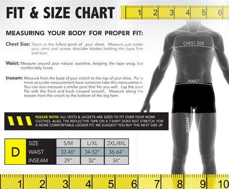 Occunomix size chart D