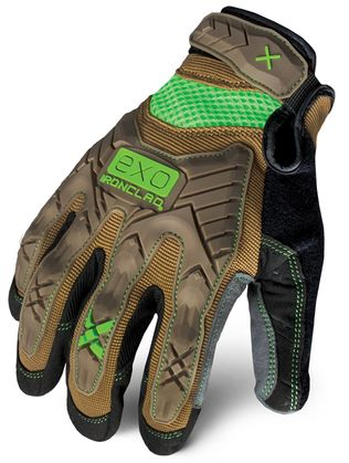 Ironclad EXO series Project Impact glove back