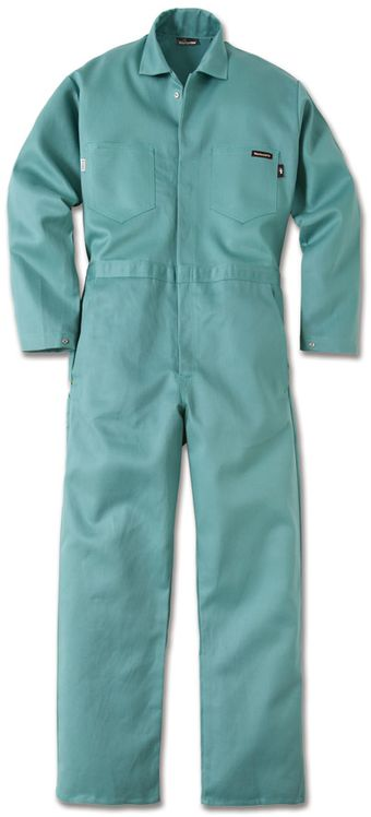Workrite Fire Resistant Gripper Coveralls 144ID95, Indura