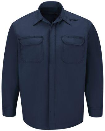 Workrite FR Shirt Jacket FST2, Ripstop, Tactical Navy Front