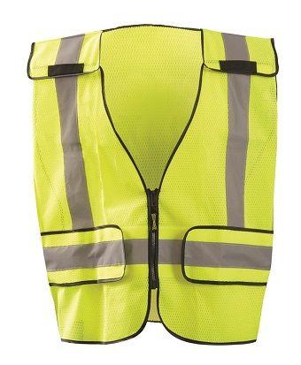 occunomix-lux-ps-dor-mesh-public-safety-break-away-vest-plain-front