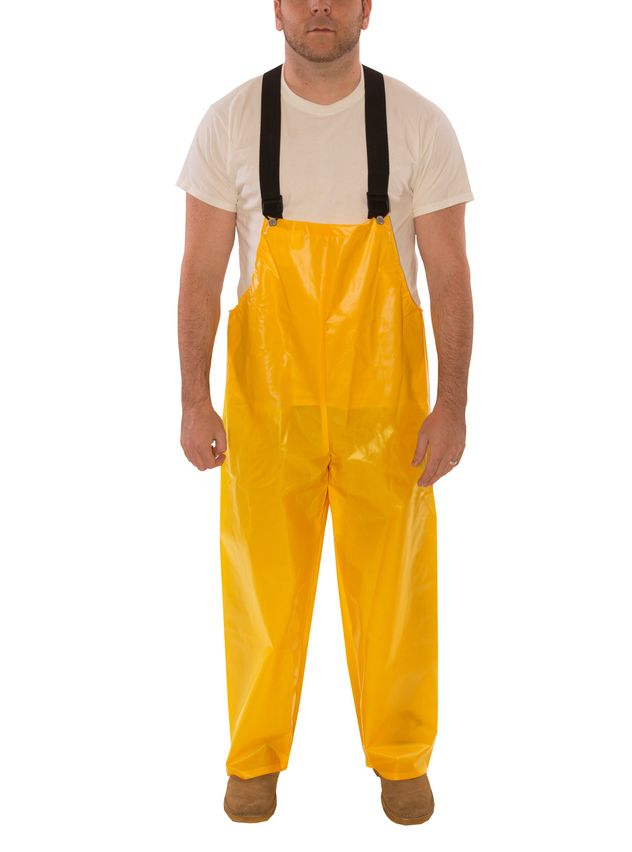 Tingley Iron Eagle® 022007 Chemical Resistant Overalls - Polyurethane Coated Yellow Front