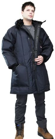 RefrigiWear Iron-Tuff Winter Work Parka 0360 - Front View