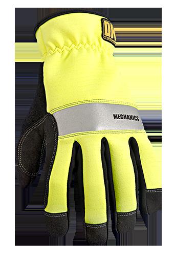 Occunomix OK-CCG250 CoolCore® HiViz Mechanics Gloves  Front