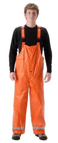 Nasco Arclite Arc Flash Rated Orange Rain Bib Pants