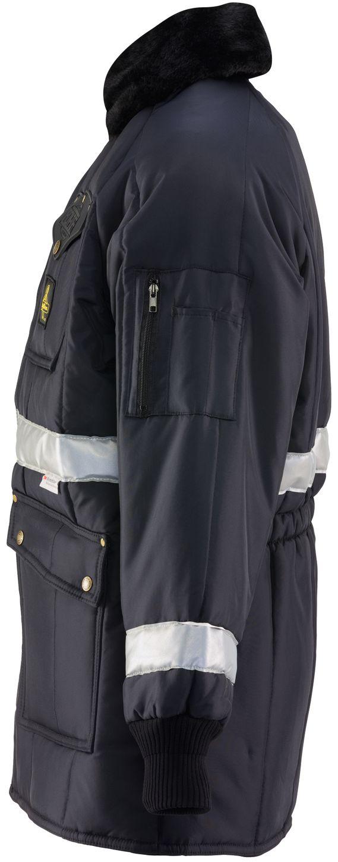 RefrigiWear 0343 Iron-Tuff Siberian Vinter Work Coat With Reflective Tape Left