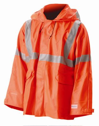 nasco sentinel arc flash fire resistant chemical rain jacket