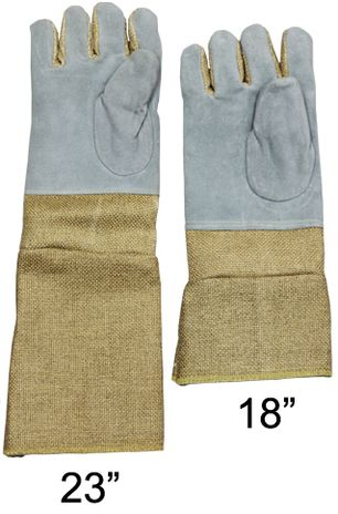 Different Lengths of Chicago Protective Zetex Plus Heat Resistant Gloves