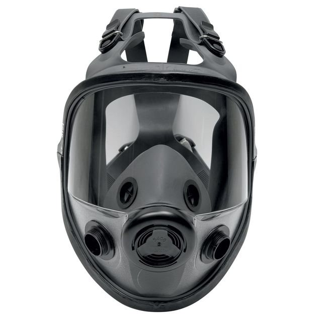 Honeywell North Safety 5400 Series Respirator Full Face Mask 54001 Economical Elastomeric Front