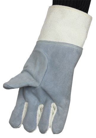 Chicago Protective FA234-Z Zetex Gloves- View on Hand