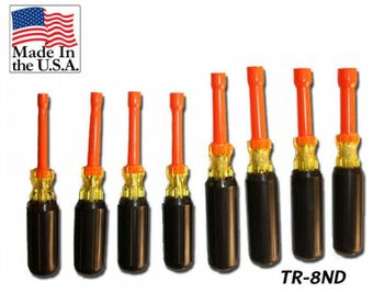 Cementex TR-8ND Insulated Nut Driver Roll, 8PC