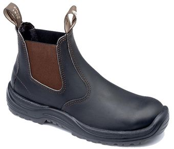 Blundstone 490 xTreme Safety Elastic Side Slip-On Boots - Fire Station Boots
