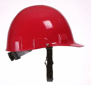 Bullard A1 High Impact Polycarbonate Alloy Ratchet Red Hard Hat