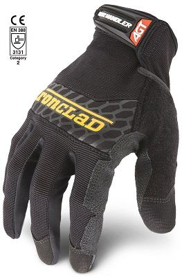 Ironclad Box Handler Performance Work Gloves Back