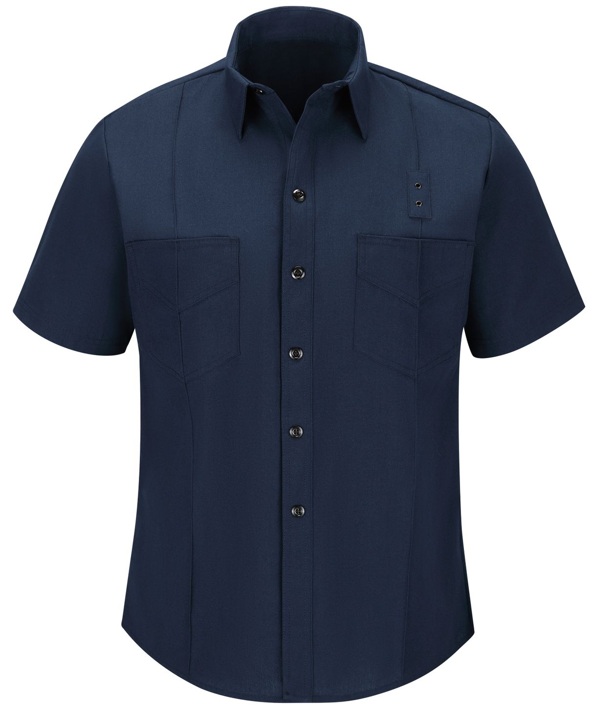 Workrite FR Firefighter Shirt FSF8, Classic Western Navy Front