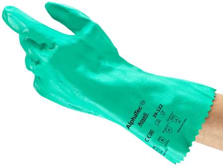 Ansell Sol-Knit Premium Gauntlets 39-122 - Nitrile Coated & Interlock Lined Example