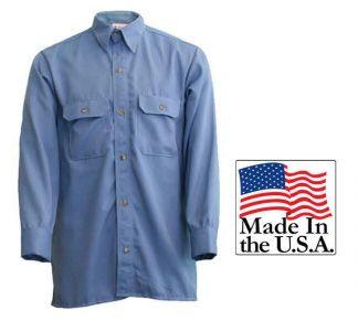 Cementex 5Cal FR Long Sleeve Collared Button-Up Shirt