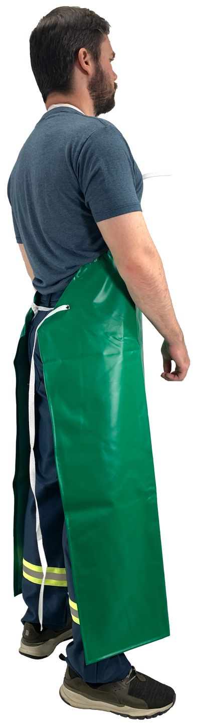 Tingley A41008 Safetyflex® Flame Resistant Apron - PVC Coated, Chemical Resistant Side