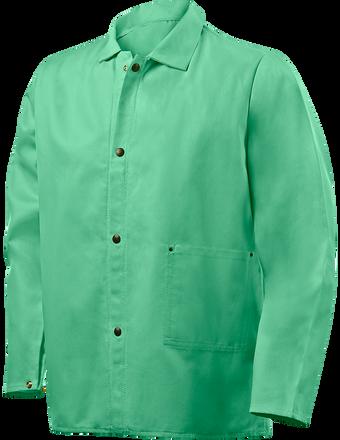 """Steiner Weldlite Flame Retardant Jacket Cotton 30"""" 1030 Front"""