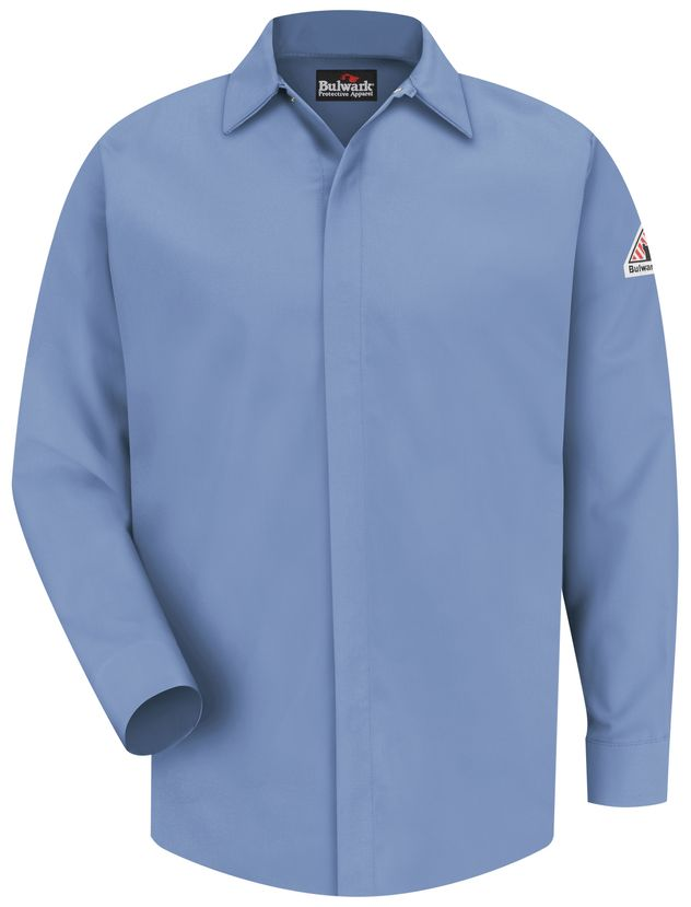 bulwark-fr-shirt-sms2-midweight-pocketless-concealed-gripper-work-light-blue-front.jpg
