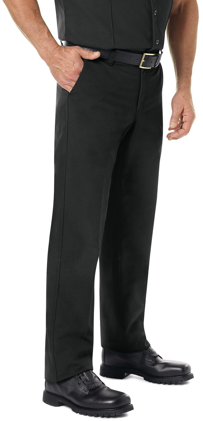 Workrite FR Pants FP52 Classic Firefighter Black Example Right