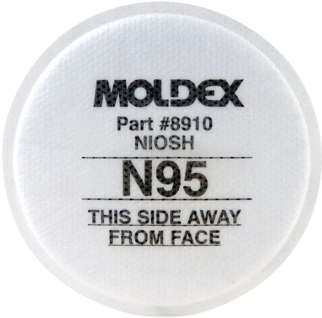 Moldex N95 Particulate Respirator Filter 8910