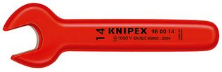 Knipex Tools Insulated Open End Wrenches Metric Sizes