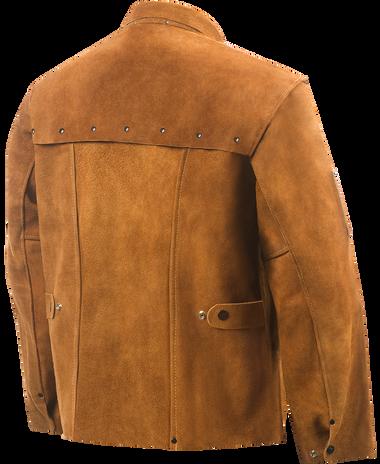 Steiner Weld-Cool Leather Welding Jacket 9214 Back