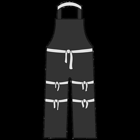 Otterlayer aluminized apron A52-ACF