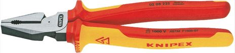 "Knipex 9"" Insulated Combination Pliers 02 08 225"