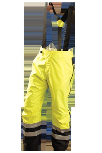 Occunomix SP-BRP Hi-Viz Breathable Rain Pants, Class E