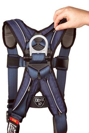 DBI Sala 1110101 ExoFit XP Vest Style Harness Zipper