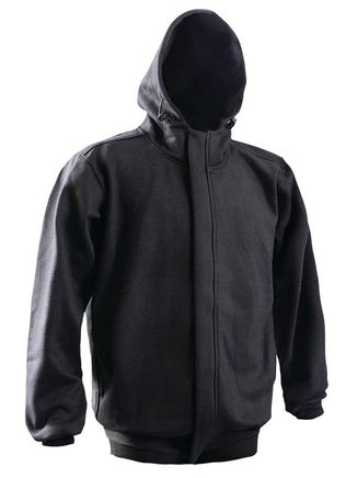 Occunomix LUX-SWTZFR Flame Resistant Non ANSI Extended Hoodie Front