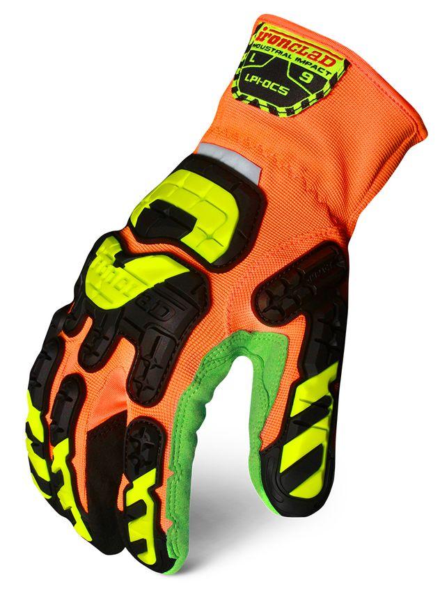 Ironclad LPI-OC5 Low Profile Impact Open Cuff Cut 5 Gloves