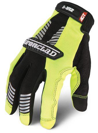 Ironclad I-VIZ™ REFLECTIVE GREEN Glove back