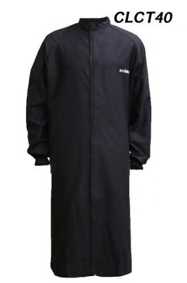 "Cementex CLCT40 40 Cal ""C Series"" Indura® Ultra Soft® FR Treated Cotton Long Coat, HRC 4"