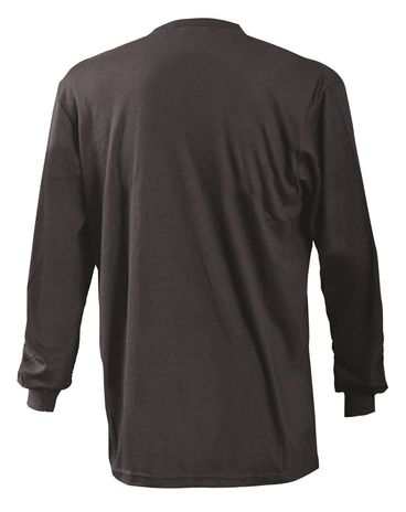 Occunomix LUX-LSTFR Flame Resistant Long Sleeve T-Shirt Back