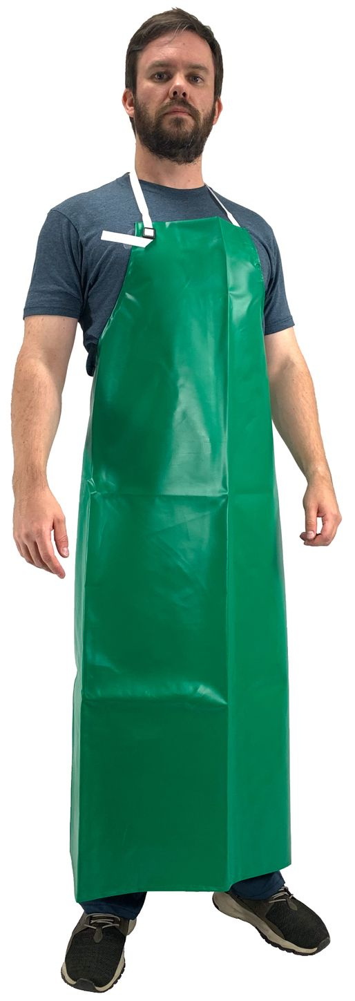 Tingley A41008 Safetyflex® Flame Resistant Apron - PVC Coated, Chemical Resistant Front
