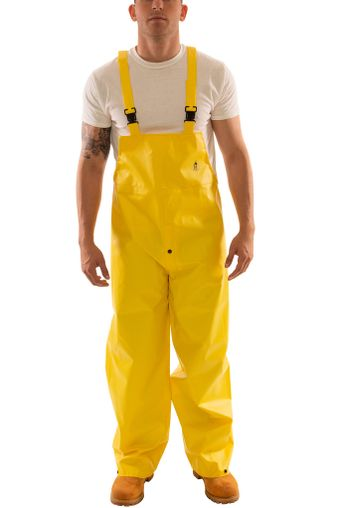 Tingley O56107 DuraScrim™ Fire Resistant Overalls - PVC Coated, Chemical Resistant, with Snap Fly Front Front