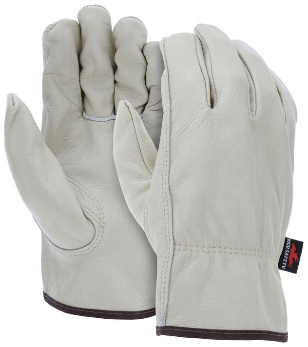 MCR Safety Leather Driver Glove 3211 - Select Cow Grain