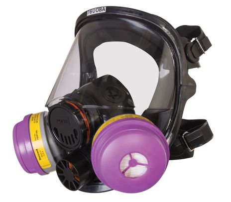 North Safety 7600-Series Full Facepiece Respirator