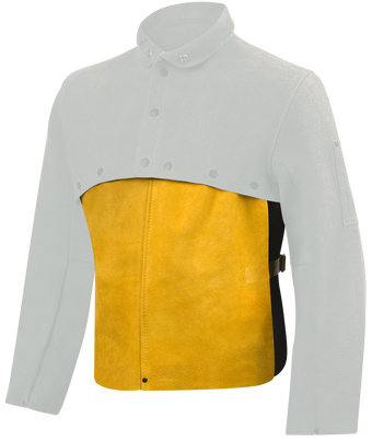 Steiner Leather Cape Sleeve Bibs 82110 14 Inch Front