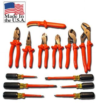 Cementex ITC13-UTK Insulated Utility Tool Kit, 13PC