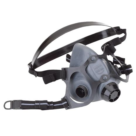 honeywell north safety 5500 series respirator half mask 550030 economical elastomeric front