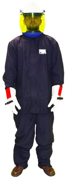 Chicago Protective Jacket and Bib 12 Calorie Arc Flash Suit